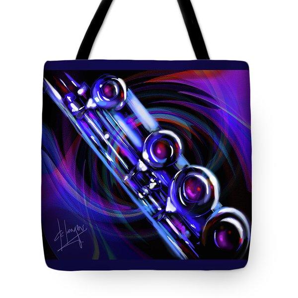Glassical Flute Tote Bag