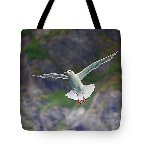 Glaucous-winged Gull Tote Bag