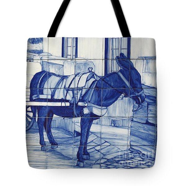 Glazed Tiles Tote Bag by Gaspar Avila