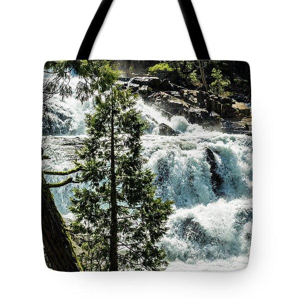 Glen Alpine Falls 1 Tote Bag
