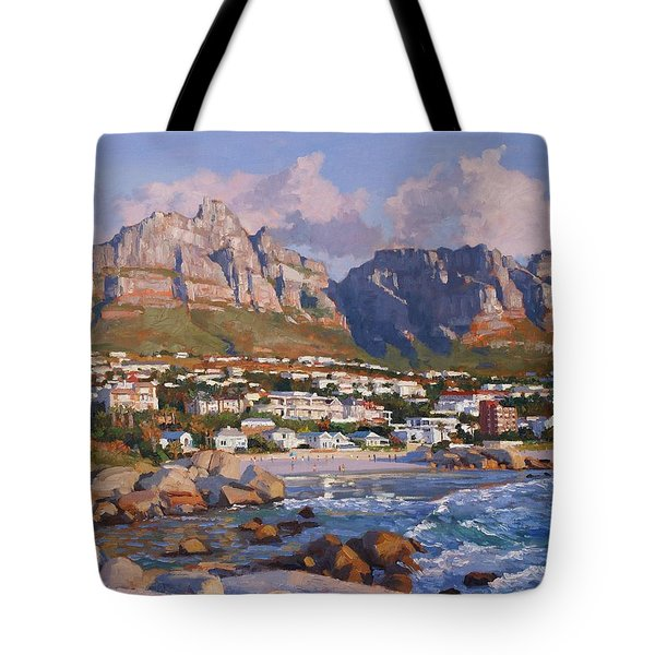 Glen Beach, Cape Town Tote Bag
