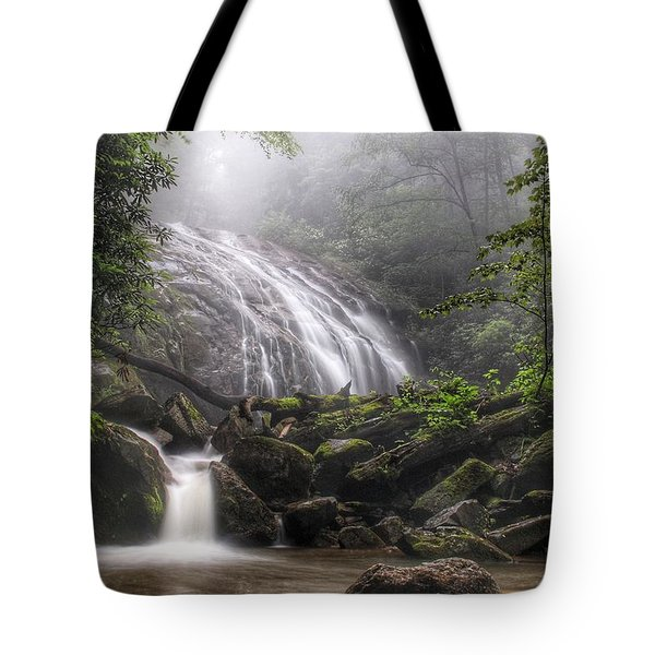 Glen Burney Falls Tote Bag