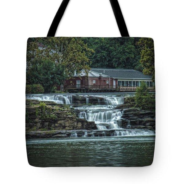 Glen Farris On The Falls Tote Bag