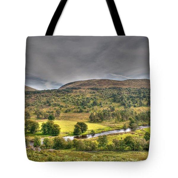 Glen Lyon Scotland Tote Bag