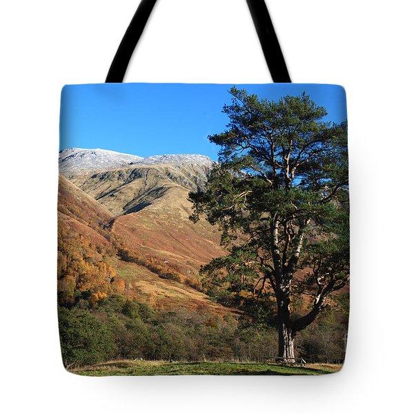Glen Nevis In Autumn Tote Bag