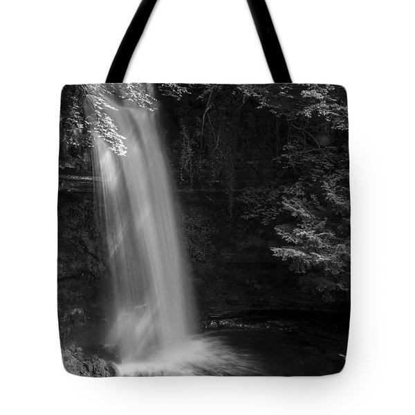 Glencar Waterfall Co Leitrim Tote Bag by Martina Fagan