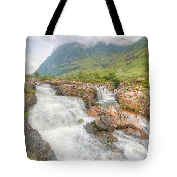 Glencoe And The River Coe Tote Bag