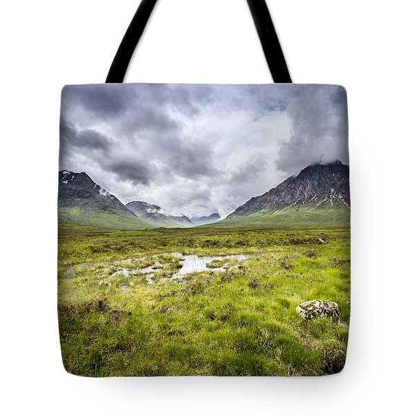 Tote Bag featuring the photograph Glencoe by Jeremy Lavender Photography