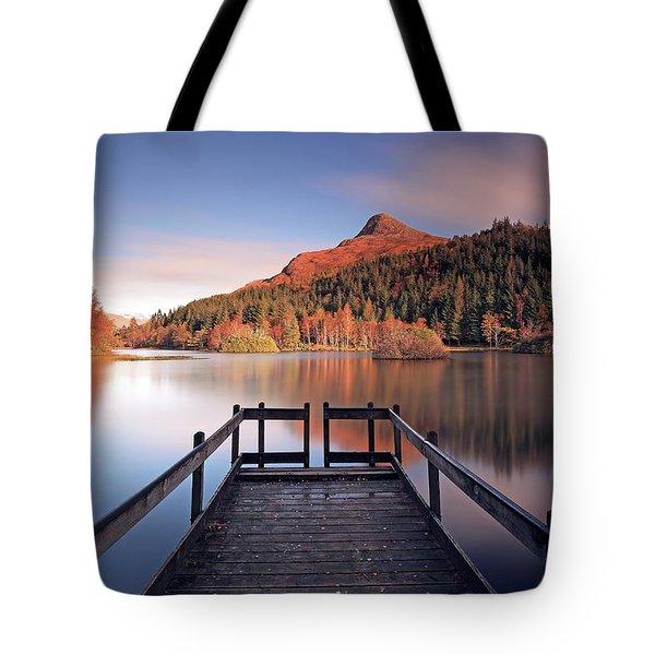 Glencoe Lochan  Tote Bag