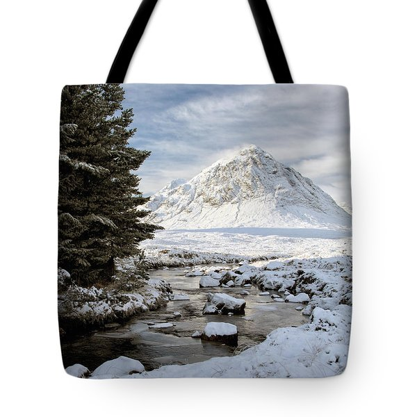 Glencoe Winter View Tote Bag
