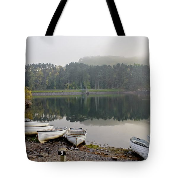 Glencorse Reflection. Tote Bag