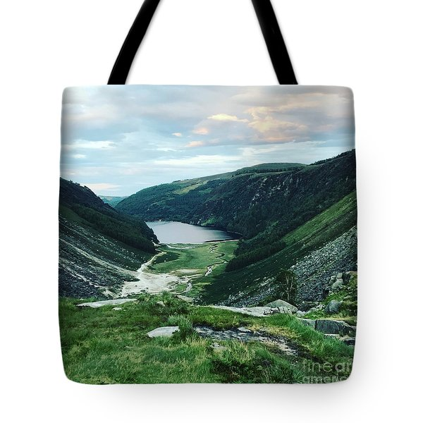 Glendalough Upper Lake Tote Bag