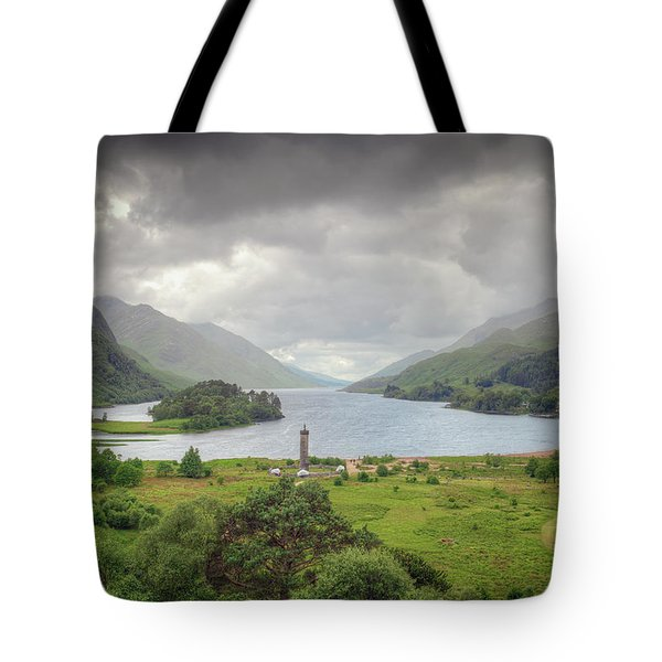 Glenfinnan Valley Tote Bag