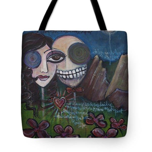 Glenn And Allison Tote Bag