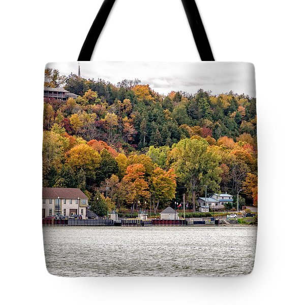 Glenora Ferry Dock Tote Bag