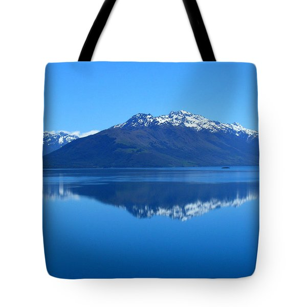 Glenorchy Road New Zealand Tote Bag