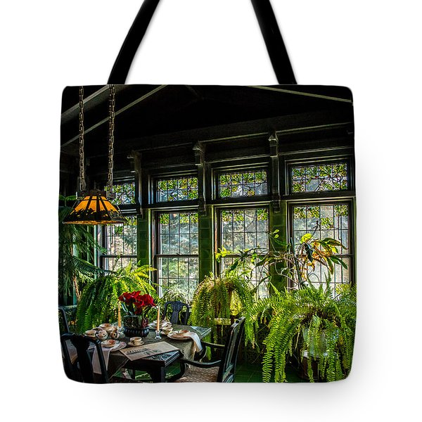 Glensheen Mansion Breakfast Room Tote Bag