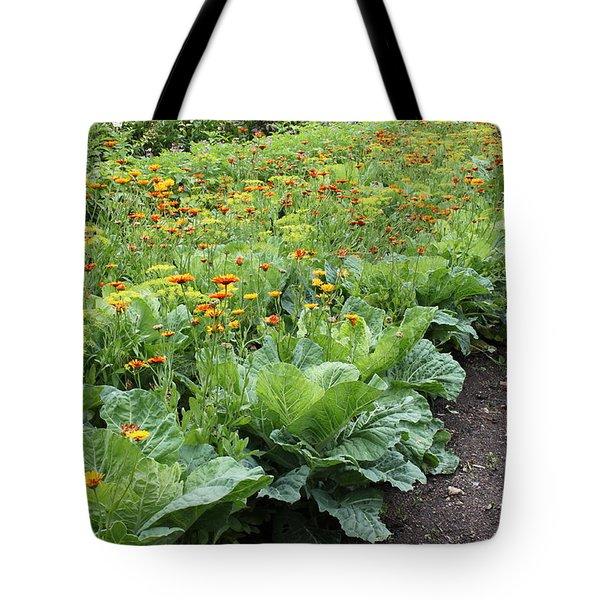 Glenveagh Castle Gardens 4276 Tote Bag