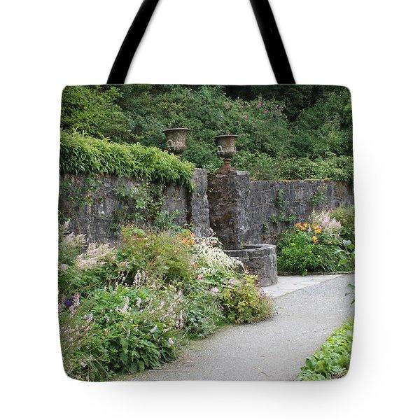 Glenveagh Castle Gardens 4288 Tote Bag