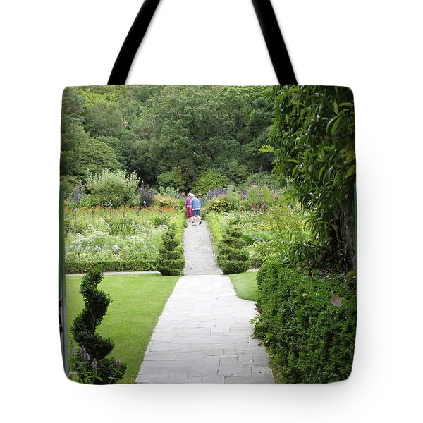 Glenveagh Castle Gardens 4272 Tote Bag