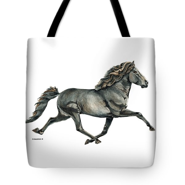 Tote Bag featuring the painting Gletta by Shari Nees