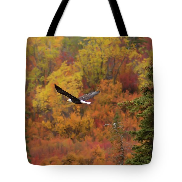 Glide Path Tote Bag by Ed Boudreau