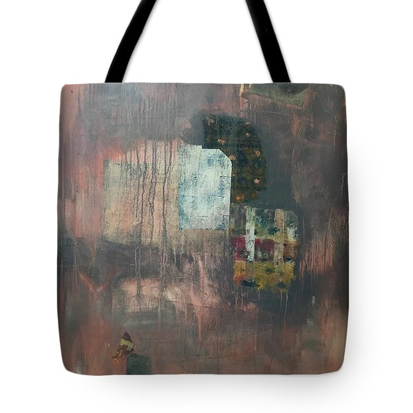 Glimpse Of Town Tote Bag