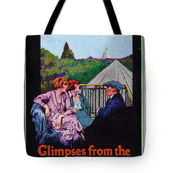 Glimpses From The Observation End Tote Bag