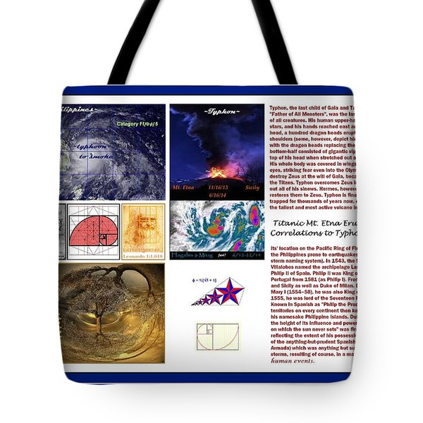 Glimpsing Divinity Tote Bag