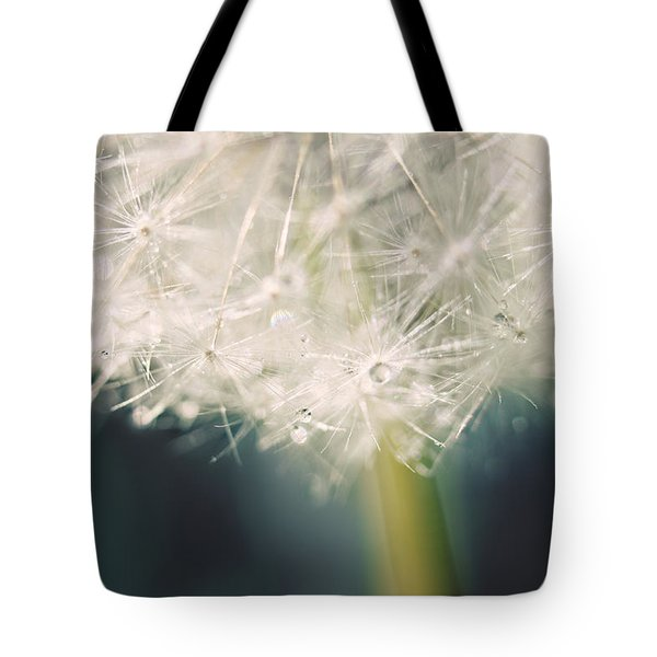 Tote Bag featuring the photograph Glisten by Amy Tyler