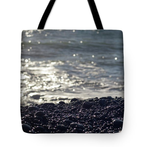 Glistening Rocks And The Ocean Tote Bag