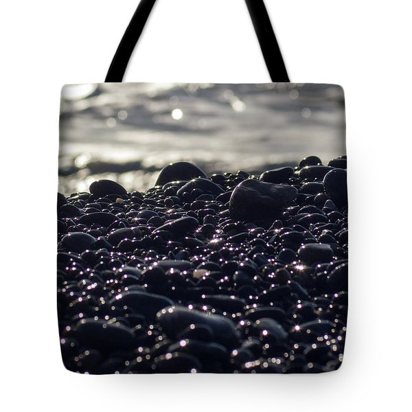 Glistening Rocks Tote Bag