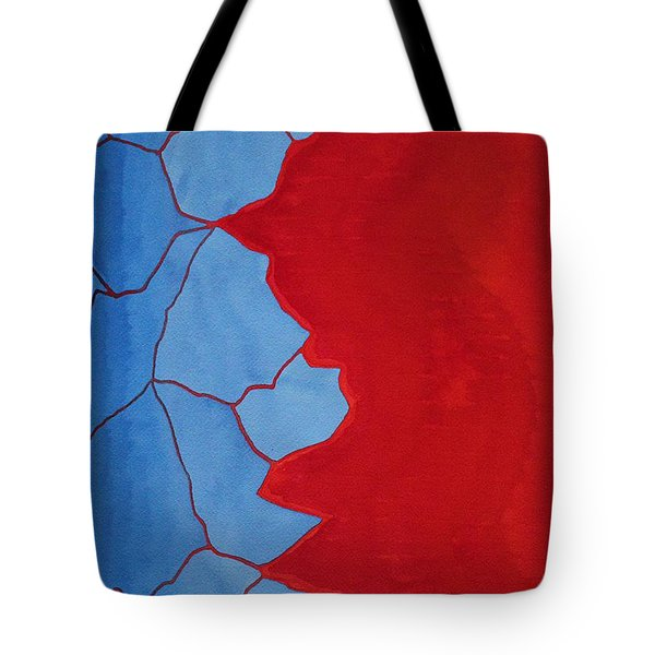Glitch In The Matrix Original Painting Tote Bag
