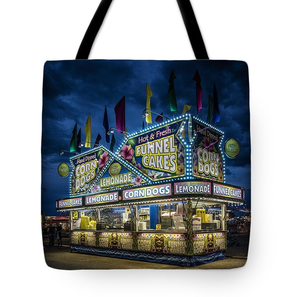 Glittering Concession Stand At The Colorado State Fair In Pueblo In Colorado Tote Bag