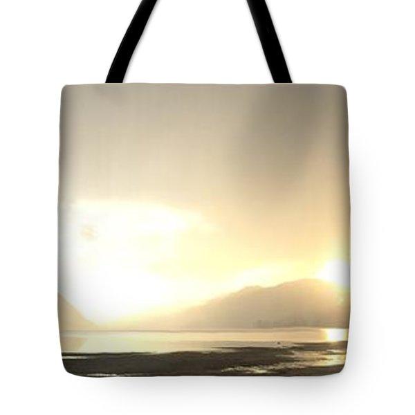 Glittering Shower Tote Bag