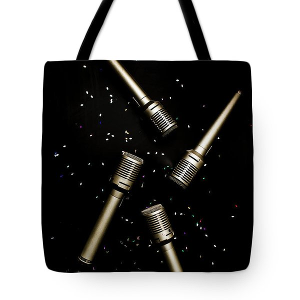 Glitz And Glam In Performing Arts Tote Bag