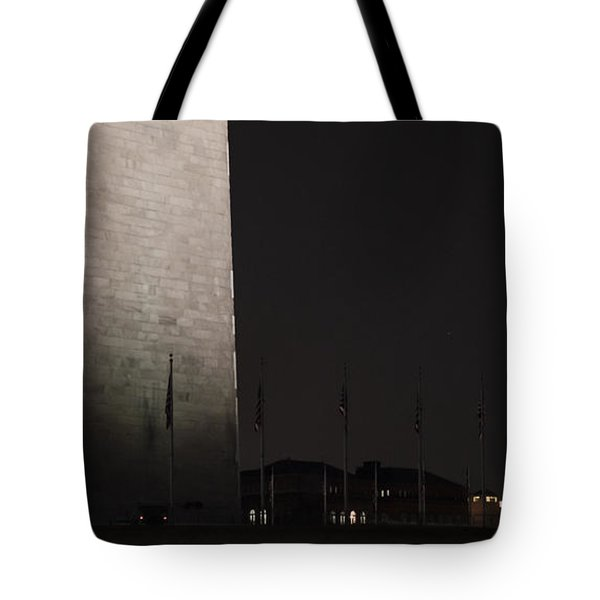 Glmpse Of The Washington Monument Tote Bag