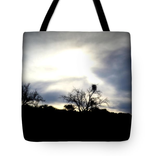 Gloaming Epiphany Tote Bag by Nature Macabre Photography