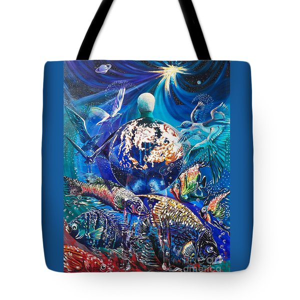 Planet  Earth - Our Family Tree Tote Bag