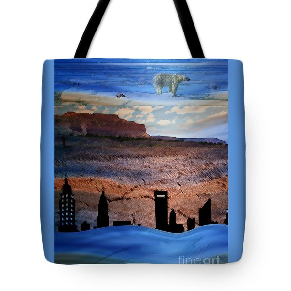 Global Care Be Aware Tote Bag