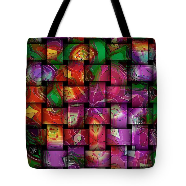 Global Connection Tote Bag