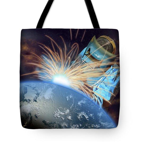 Global Meltdown Tote Bag