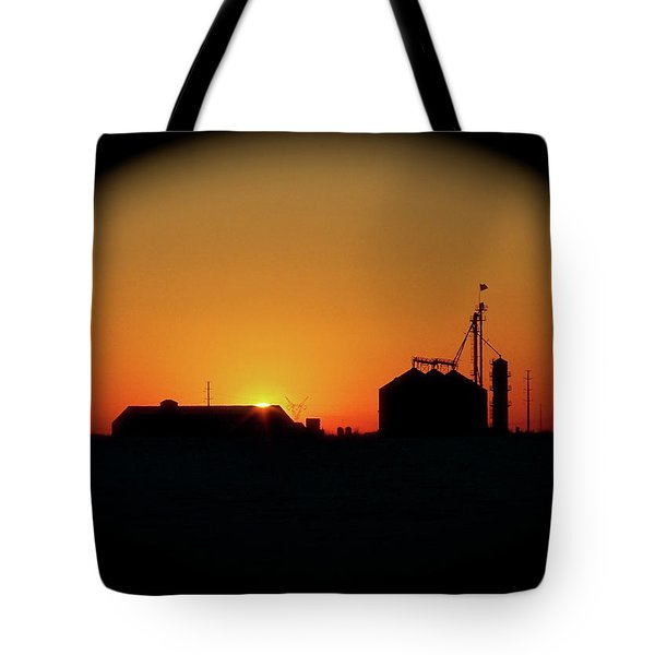 Global Sunset Tote Bag by Sue Stefanowicz