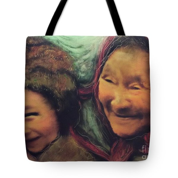 Global World Of Love And Compassion Tote Bag