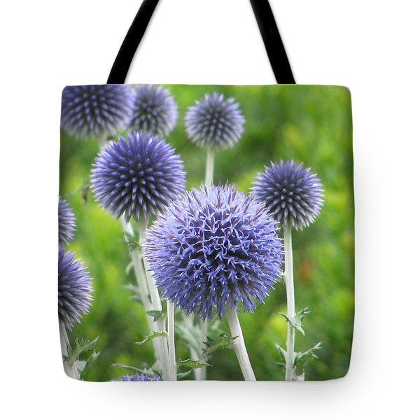 Globe Thistle Tote Bag