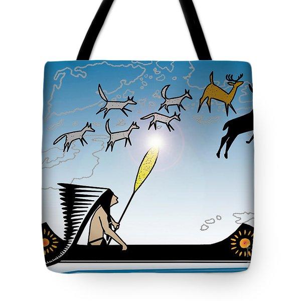 Glooscap Creates The West Isles Tote Bag