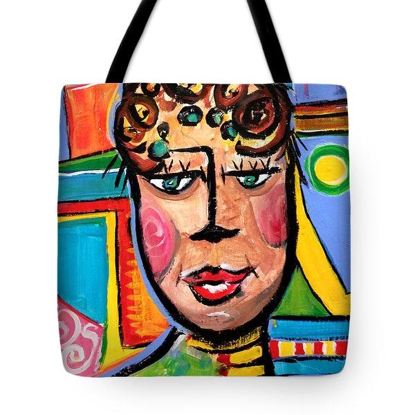 Gloria - Vivid Vixen 7 Tote Bag