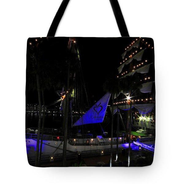 Gloria Of Columbia Tote Bag
