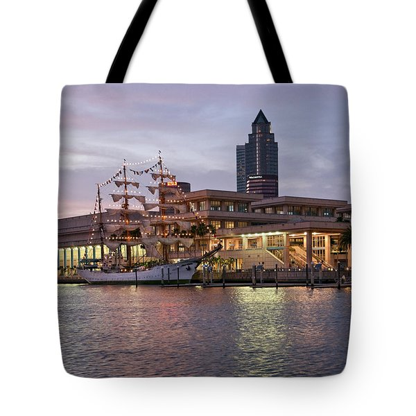 Gloria Visiting Tampa Tote Bag