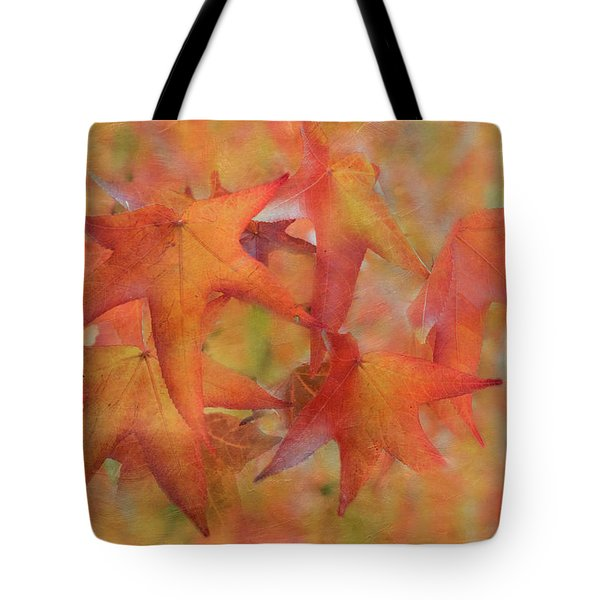 Tote Bag featuring the photograph Glorious Autumn by Angie Vogel